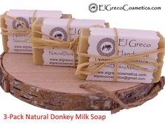 Natural Donkey Milk Soap Oatmeal Scrub, Milk Protein, Fresh Milk, The Donkey, Essential Fatty Acids, Milk Soap, Vitamin E, El Greco