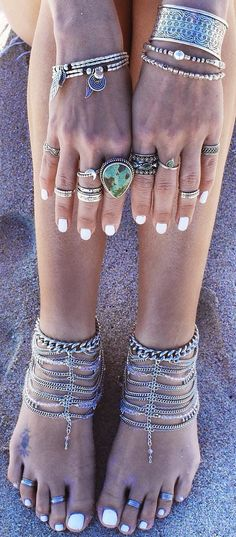 Boho jewelry for your hands and feet,.Fashion ring only $1.99 shop at Costwe.com