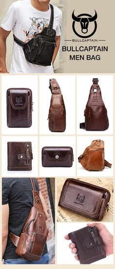From US$10.89 + Free Shipping. Men's Bag, Men Genuine Leather Bag, Crossbody Bag, Shoulder Bag, Waist Pack, Clutch Bag, Phone Bag, Wallet. Up to 73% OFF! What Are You Waiting Fot? Find Your Perfect Bag Here!