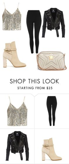"""""""Sparks"""" by deeplystylish on Polyvore featuring Alice + Olivia, Topshop and STELLA McCARTNEY"""
