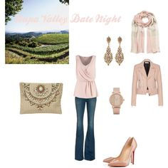 Napa Valley Date Night by megnapavalley on Polyvore featuring Anna Field, Balenciaga, Citizens of Humanity, Christian Louboutin, Star Mela, Jose & Maria Barrera, ALDO, Burberry, christianlouboutin and Starmela