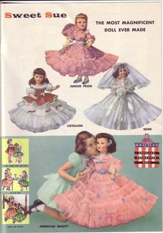 Sweet Sue doll clothes ad