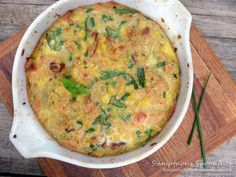 Spicy Smoky Corn Pudding with Smoked Gouda and Bacon (Sumptuous Spoonfuls)