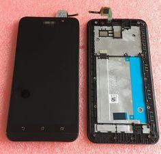Lcd màn hình hiển thị + cảm ứng digitizer với frame cho 5.5 '' asus zenfone 2 ze551ml z00ad z00adb z00ada miễn phí vận chuyển