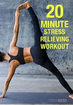 Yoga sequence to relieve stress! Join us for Morning Hatha Yoga w/ Renu Mondays, Wednesdays, & Fridays @10am
