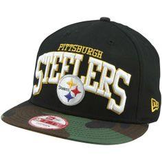 Pittsburgh Steelers Hats : New Era Pittsburgh Steelers Snapbackin 9FIFTY Snapback Hat - Camo/Black New Era. $27.95
