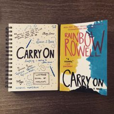 comiziale:  Book Diary: Carry On by Rainbow Rowell