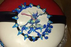 Greninja's cake ^.^ ♡ I give good credit to whoever made this