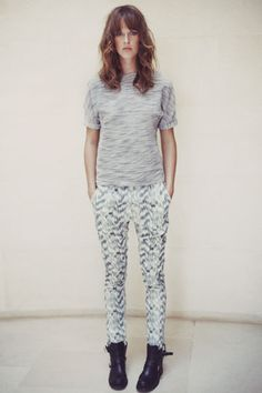 say hi to the pants i've bought today! it's time to wear prints prints prints :)  By Zoé