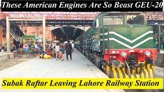 Pakistan Railways using american engines for Pakistani trains. Pakistan Railways, Pakistani, Trains, Engineering, American, Technology, Train