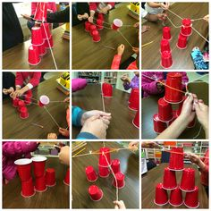 Ms. Sepp's Counselor Corner: Teamwork in 3rd Grade: Cup Stack
