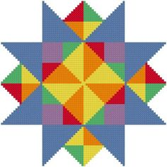 Evenings Star - cross stitch pattern designed by Susan Saltzgiver. Category: Arts.
