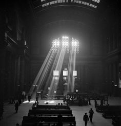 At the height of its popularity, the railway station had to paint over its skylight.