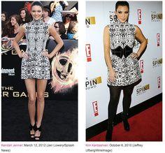 Keeping style in the family-    Kendall Jenner vs. Kim Kardashian