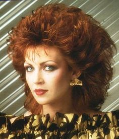 vintage everyday: 1980s: The Period of Women Rock Hairstyle Boom