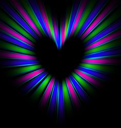 Stare at the middle, watch the heart grow....bizarre!!