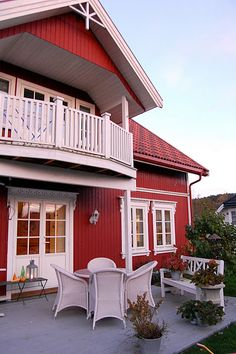 Beautiful Norwegian home #Norway ☮k☮ #Norge