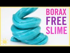 BEST Kid Friendly Slime! (NO Borax) - YouTube