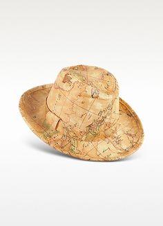 Alviero Martini 1A Classe Geo Africa - Cappello Donnavventura Map Globe 22b5ae9772a9