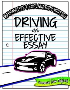 Expository Writing, Informative Explanatory Writing (Informational, Expository) BundleAligned with the Common Core State StandardsThis IS included in my Essay Writing Resource Bundle: Common Core AlignedStudents will learn to write informative/explanatory essays and research papers by following the step-by-step process.