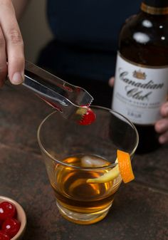 The only Old Fashioned recipe you'll ever need! #madmen #happyhour #cheers