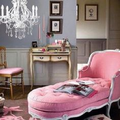 Gorgeous chair. I need this and a walk in closet!
