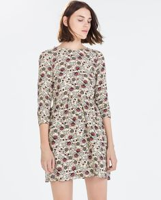 FLORAL FLOUNCE DRESS-Dresses-Starting from 50% off-WOMAN-SALE | ZARA United States
