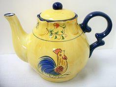 Rooster Ceramic Teapot