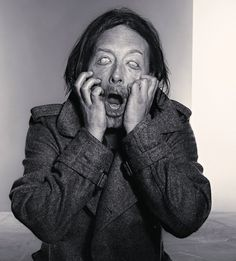 Thom Yorke Photo session - By Richard Burbridge for Dazed and Confused, 2013