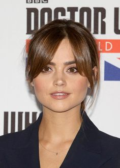 Pin for Later: 20 Fab New Celebrity Fringes You'll Want to Copy This Autumn Jenna Coleman