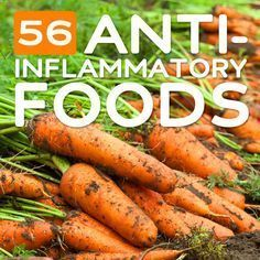 50 Anti-Inflammatory Foods -- Eating an anti-inflammatory diet can help reduce inflammation in the body and help with certain conditions that are caused by or worsened by inflammation. This can include diseases like heart disease, Parkinson's disease, and Crohn's disease, to conditions like eczema, asthma, and arthritis.