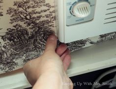 dressing up an ugly window unit, how to, hvac, window treatments, windows Window Coverings, Window Treatments, Window Ac Unit, Window Ac Cover, Porch Curtains, Window Air Conditioner, Air Conditioner Cover, Faux Window, Faux Wood Blinds