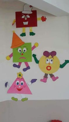 Fun ways to teach Kids by these Crafts Decoration Creche, Class Decoration, School Decorations, Classroom Displays, Classroom Decor, Preschool Classroom, Preschool Activities, Art For Kids, Crafts For Kids