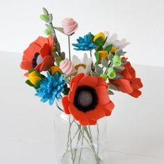 Handmade Felt Flowers for the BEGINNER - How to get started!