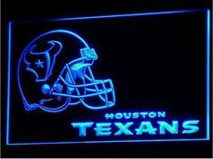 Houston Texans LED Neon Sign Light NFL Football Sports Team  #Unbranded…