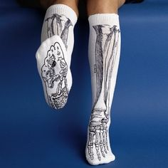 Anatomical bone sock