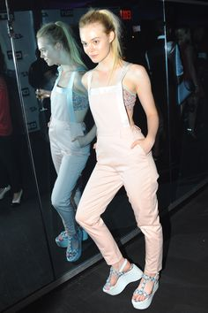 Elle Fanning - Opening Ceremony SS15 All-Star after party in NYC - September 7, 2014