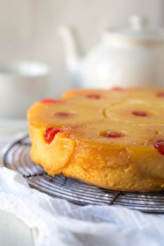 Gluten Free Pineapple Upside Down Cake Really nice recipes.  Mein Blog: Alles rund um Genuss & Geschmack  Kochen Backen Braten Vorspeisen Mains & Desserts!