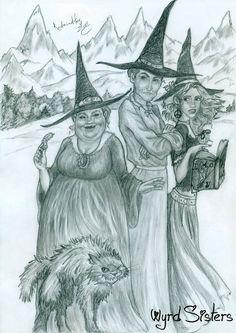 Wyrd Sisters by Redmindfox