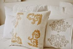 Iby Lippold Haushaltstipps : Gold, Glanz und Eleganz mit Acrylfarbe - Iby Lippold Household Tips: Gold, shine and elegance with acrylic paint