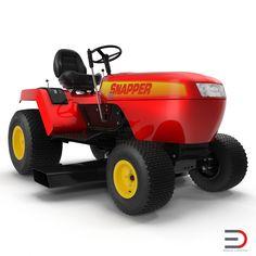 Lawn Tractor Snapper http://www.turbosquid.com/3d-models/lawn-tractor-snapper-3d-model/936801?referral=3d_molier-International