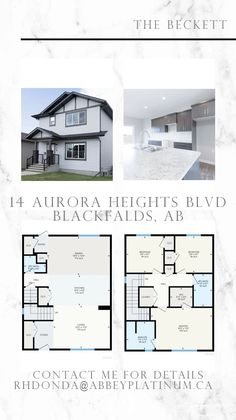 "If Blackfalds is where you want to call home ""The Beckett"" at 14 Aurora Heights BLVD. Blackfalds, AB beckons! This is a great Two-Story that's ready to move in! email rhdonda@abbeyplatinum.ca Second Story, Aurora, Floor Plans, Photo And Video, Instagram, Home, House, Northern Lights, Homes"
