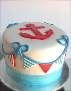 Little Sailor Boy Smash Cake.