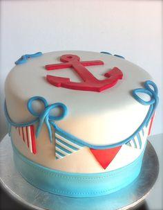 Little Sailor Boy Smash Cake.
