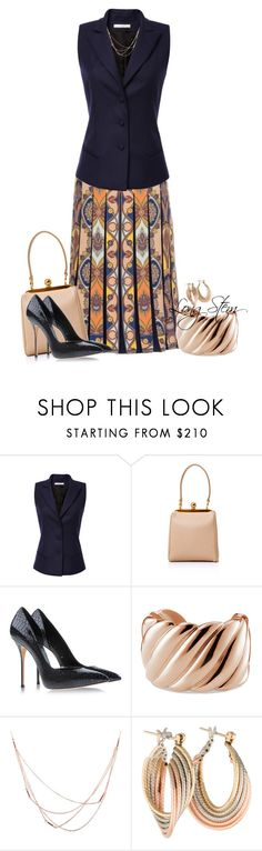 """08/26/15"" by longstem ❤ liked on Polyvore featuring Bouchra Jarrar, Dolce&Gabbana, Casadei, David Yurman and Willow & Clo"
