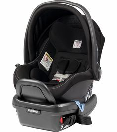 """The Peg-Perego Primo Viaggio 4-35 Infant Car Seat offers advanced protection for your child's first trip (""""primo viaggio"""") while featuring a sleek, modern design and luxurious Italian leather. Accommo"""