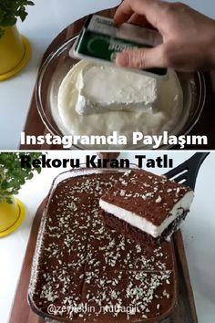 recipes # Sütlütatlıtarif of Kitchen Recipes, Snack Recipes, Cooking Recipes, Snacks, Turkish Recipes, Ethnic Recipes, Fondant, Cupcakes, Coffee Break
