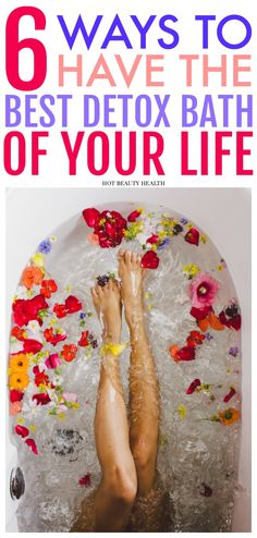 A guide on how to craft the perfect detox bath at home. Great for easing sore muscles post-workout and pampering your skin. Also includes my favorite diy detoxifying bath (made with apple cider vinegar, epsom salt, clay, lavender essential, and etc) for naturally flushing out toxins from the body.