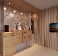 Altar Design, Foyer Design, Entrance Design, Hall Design, House Design, Modern Tv Wall Units, Buddha Decor, Home Entrance Decor, Living Room Tv Unit Designs