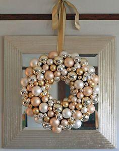 BHG Ball Ornament Wreath